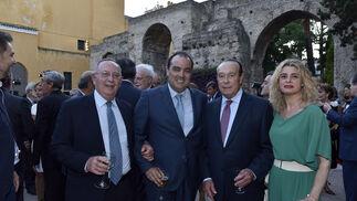 José Luis García Ruiz, David Fernández Mejías, Curro Romero e Inmaculada Malvido.