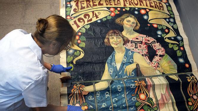 Cartel de la Feria del Ganado 1924.