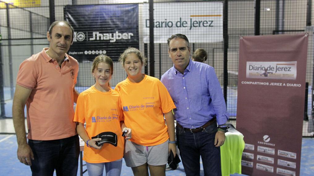 Carrasco y Barrera, campeonas en consolación femenina