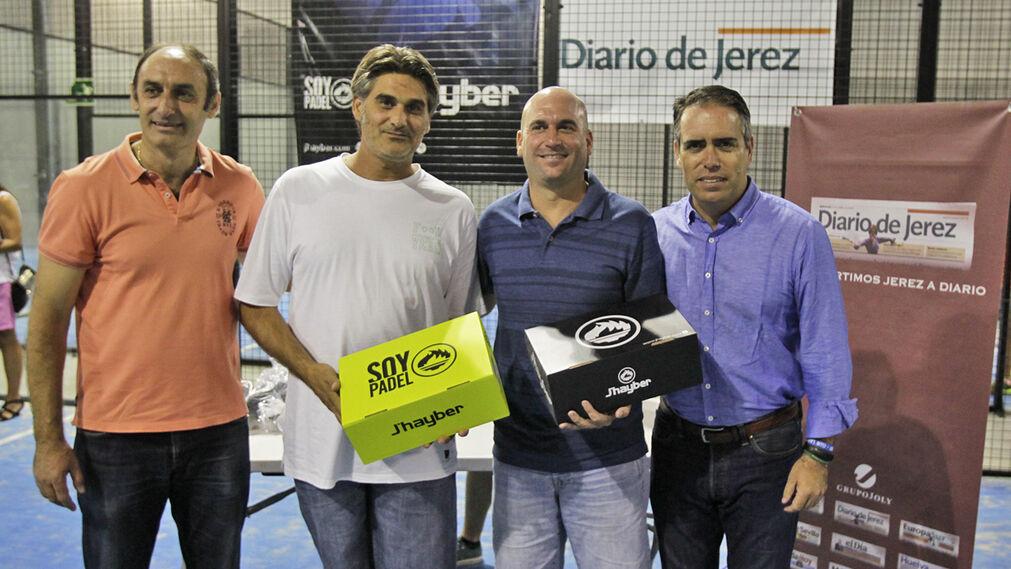 Pepe Salado y Francis Reina, campeones de la Categoría C.