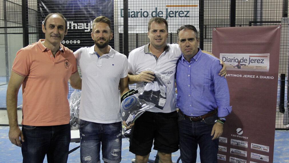 Romero y Pérez, campeones consolación Categoría A.