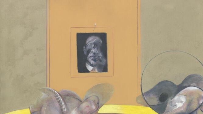 1. 'El baile' de la enigmática Paula Rego, una de las artistas presentes en la muestra. 2 y 3. Dos obras de Lucien Freud, 'Muchacha con pijama a rayas' y 'Leigh Bowery'. 4. 'Tres figuras y un retrato', una de las pinturas de Francis Bacon.