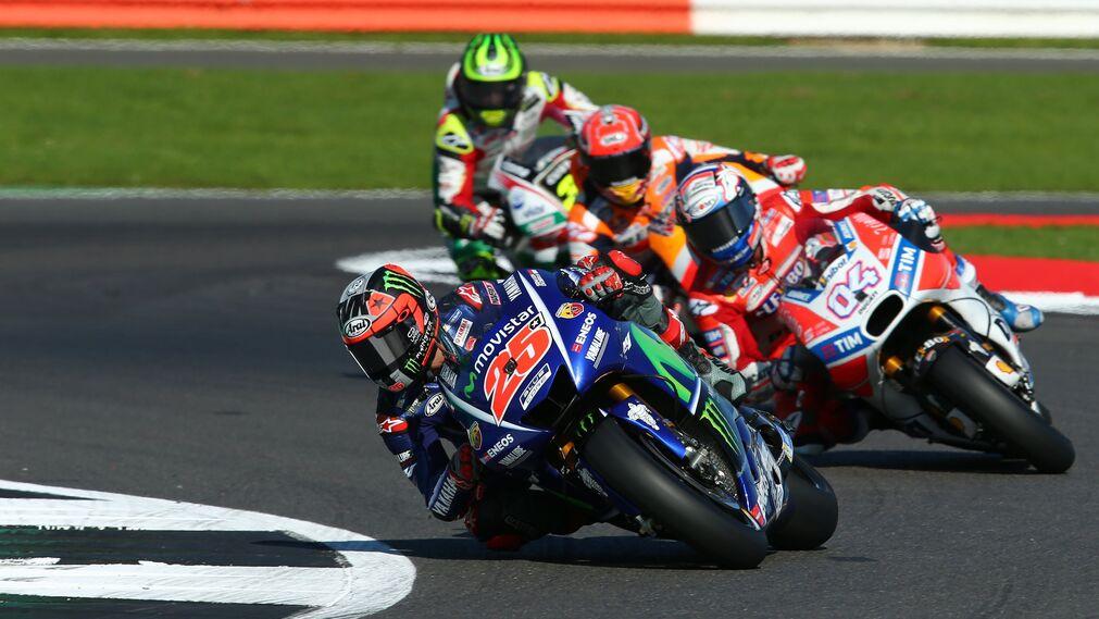 Las imágenes del GP de Gran Bretaña de Motociclismo
