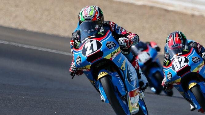 Alonso López fue el más veloz en Moto3.