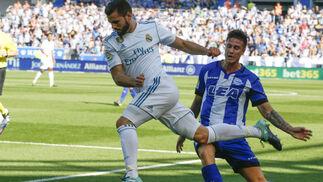 Las imágenes del Alavés-Real Madrid