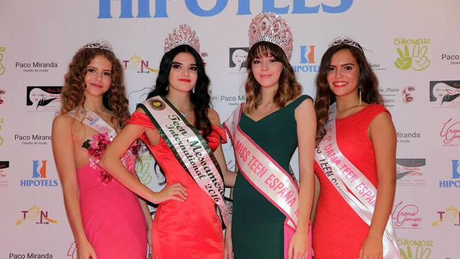 En la imagen, Marta Troya, Marisol Serrano, Claudia Pulido y Clara Navas.