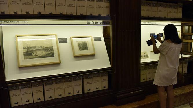 """Imágenes de la muestra, cuyo origen está en el hallazgo de un manuscrito del siglo XVIII que ofrece una descripción del río """"no vista, ni publicada""""."""