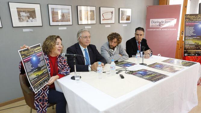 Isamay Benavente, Francisco Camas, Pepe del Morao y Rafael Navas.