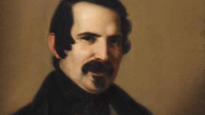 Joaquín Manuel Fernández Cruzado. 'Autorretrato', ca. 1835. Museo del Romanticismo, Madrid. Nº Inv. CE0045. Fotografía de Pablo Linés.