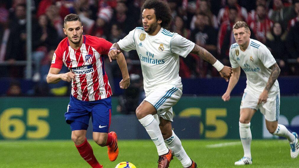 Las imágenes del Atlético-Real Madrid