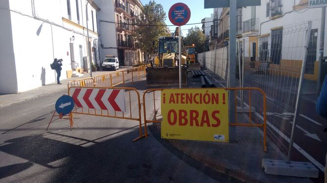 Corte parcial por las obras en la calle Porvenir