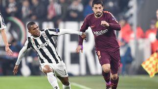 las imágenes del Juventus-Barcelona