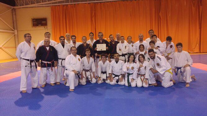 Manuel Caballero ya es 7º dan de nihon tai-jitsu
