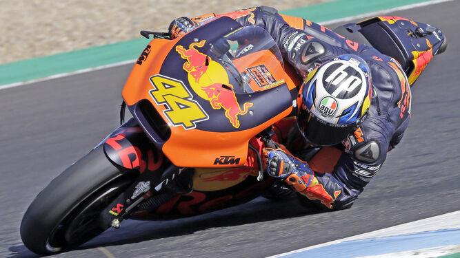 Pol Espargaró, a lomos de su KTM, fue el mejor de los españoles en el día de ayer.