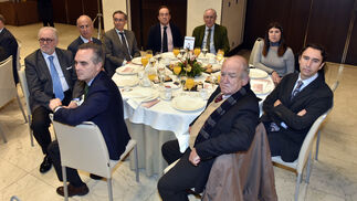 Juan Bueno, Antonio Arroyo, Francisco Velasco, Gabriel Rojas, Rafael Bravo, Javier Torres Vela, Blanca Rodríguez, Germán Palomino y Jesús Bores.