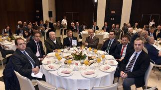 Antonio Gil, Luis Ruperto López, Luis Alarcón de la Oliva, Francisco Carmona, Carlos Arizaga, José Latorre, Julio Millán y José Manuel Colmenero.