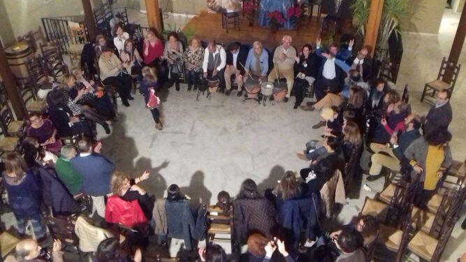 Imagen de la Peña de La Bulería, donde El Cristo celebró una zambomba.