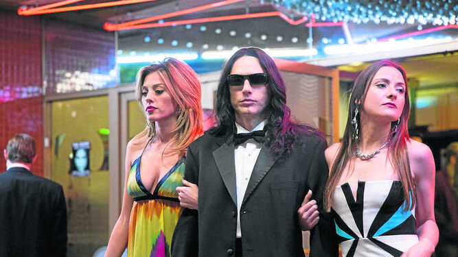 James Franco, en la piel del actor y director Tommy Wiseau, al que da vida en 'The Disaster Artist'.