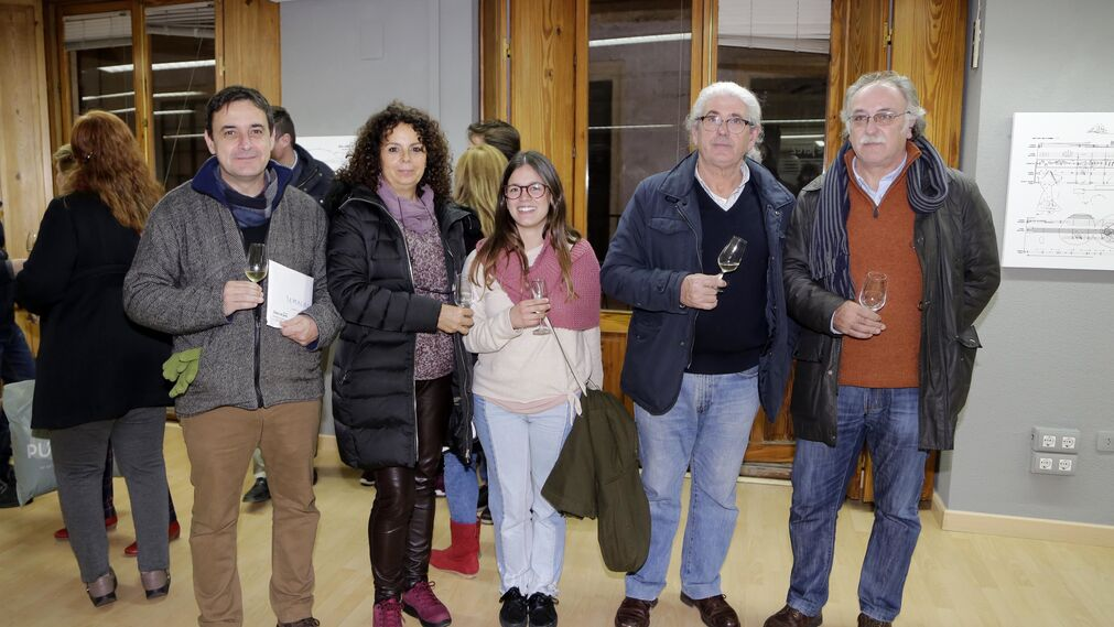 Antonio Sánchez Temblador, María Luisa Rey, Beatriz Aranda, José Basto y Juan José Torti.