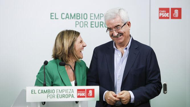 Irene García y Jiménez Barrios buscarán recuperar la hegemonía socialista.