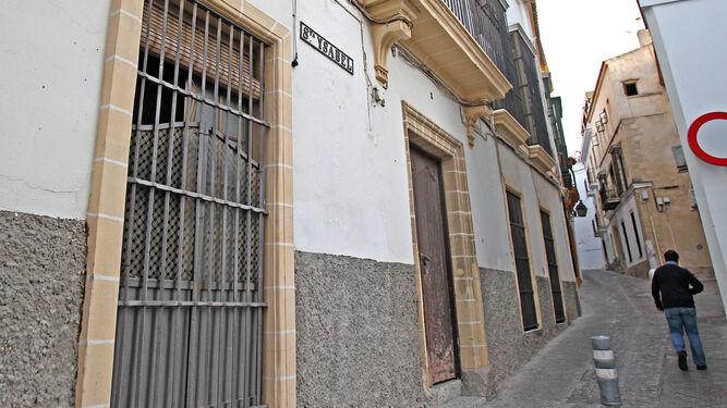 En esta casa de la calle Santa Isabel se prevé un hotel de 13 habitaciones.
