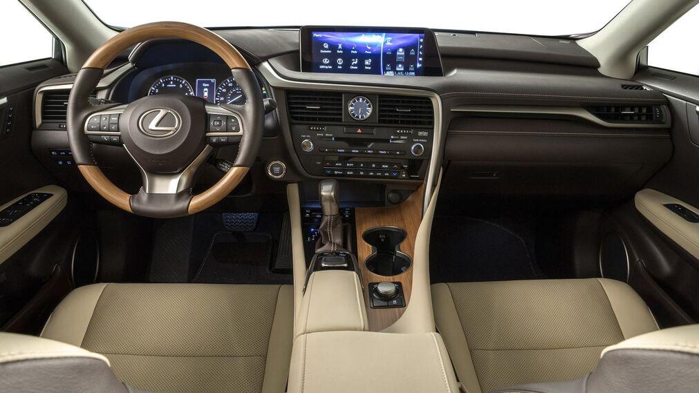 Galería de fotos del nuevo Lexus RX L: el SUV de 7 plazas