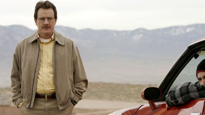 El desarrollo del personaje de Walter White-Heisenberg (¿evolución, involución?) a cargo de Bryan Cranston.