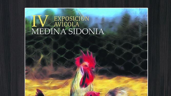 Cartel de la feria en el que la gallina sureña es la gran protagonista.