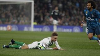 El Real Betis-Real Madrid, en imágenes