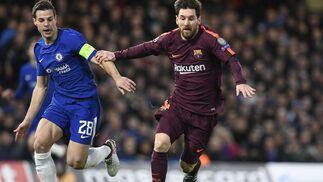 Las imágenes del Chelsea-Barça