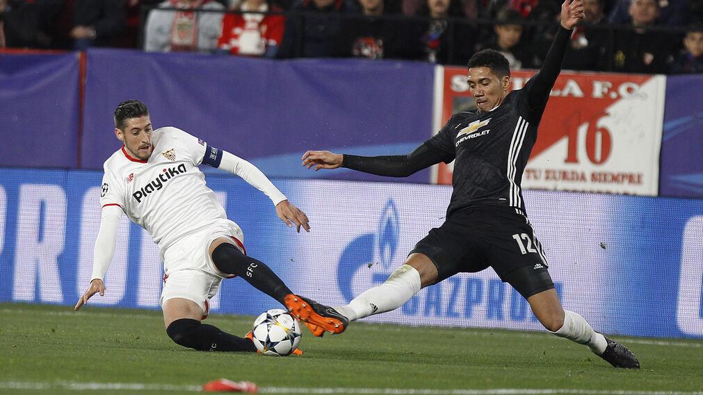 Las imágenes del Sevilla-Manchester United de Champions