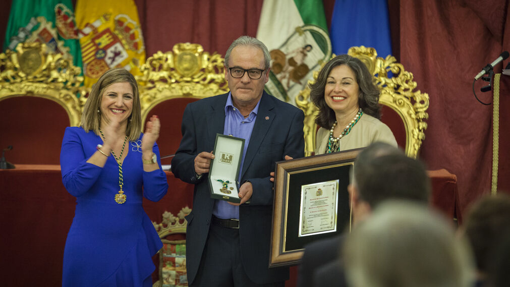 Imágenes de la entrega de la Medallas de la provincia