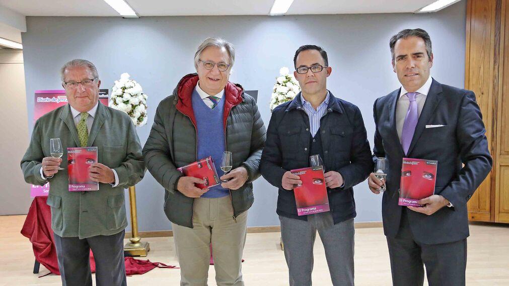 Enrique Espinosa, Francisco Camas, Dionisio Díaz y Rafael Navas.