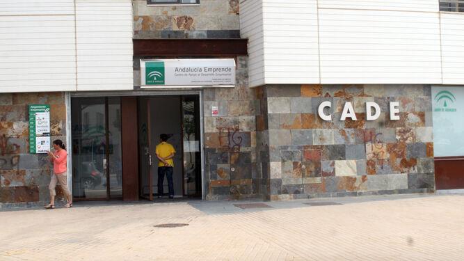 Imagen de archivo de la entrada a una de las sedes andaluzas del CADE.