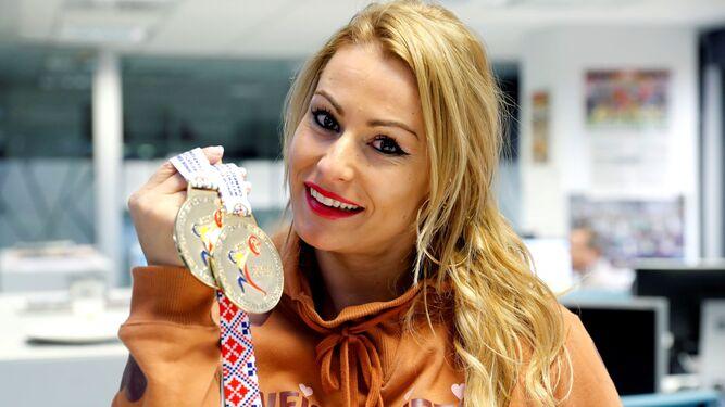 El Sporting se lo toma con humorLydia Valentín se cuelga medallasNiemann, un imberbe entre los mejores