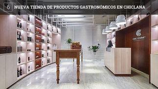 Cádiz Gourmet es una tienda ubicada en el interior del Hotel Meliá Sancti Petri 5 Estrellas Gran Lujo que ofrece productos vitivinícolas, conserveros, artesanos, queseros y reposteros de los pueblos de Cádiz.