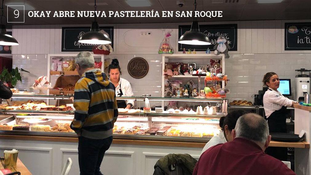 El nuevo establecimiento sigue la línea de la cadena de compatibilizar varios usos como panadería, pastelería, cafetería e incluso cuenta con una zona especial dedicada a los niños.