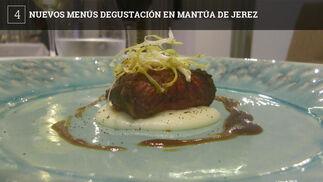 Los menús completos se pueden ver en la web del restaurante restaurantemantua.com