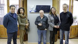 Antonio S. Templador, María Luisa Rey, Bernardo Palomo, Raquel Fernández y Manuel del Valle.
