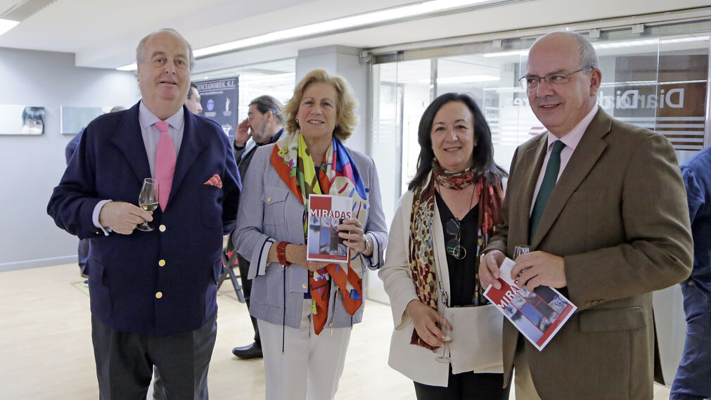 José Arcas, Carmen Ruiz Lassaletta, Mercedes Crespo y Javier Sánchez Rojas.