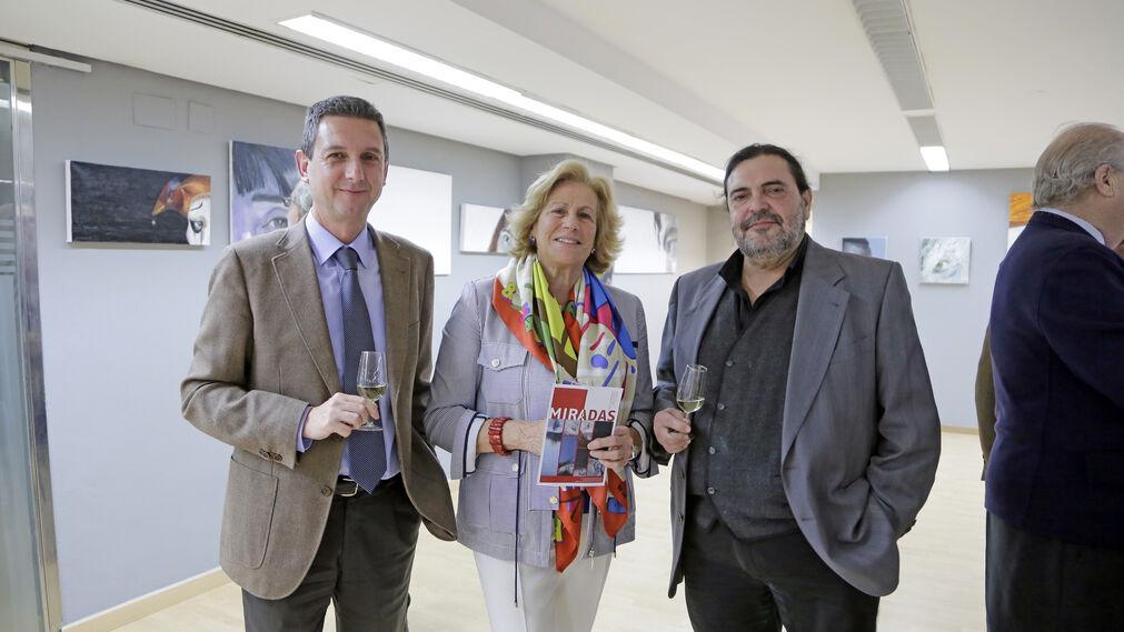 Miguel Berraquero, Carmen Ruiz Lassaletta. Manuel Á. González Fustegueras