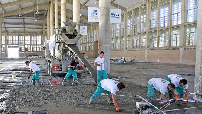 Ifeca pospone las actividades previstas en el recinto por for Hormigon impreso jerez