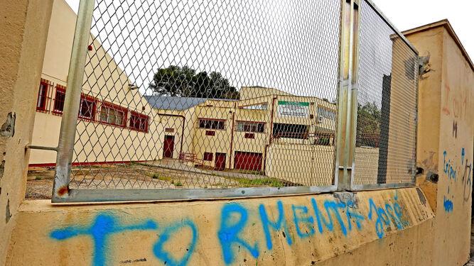 Imagen de lo que fue el centro de formación ocupacional.