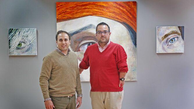 Fernández y su socio, Daniel García.