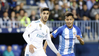 Las imágenes del Málaga-Real Madrid