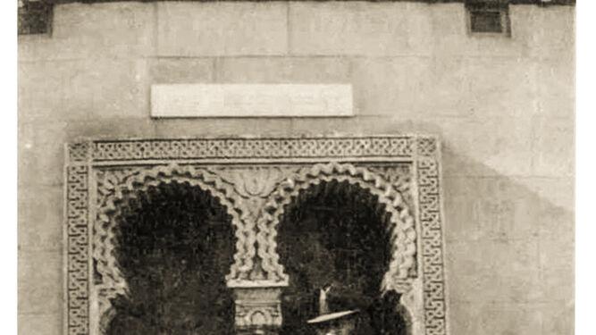 Lápida conmemorativa de la donación de El Retiro
