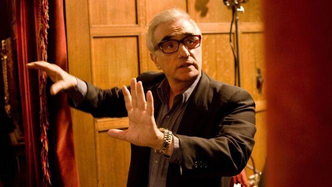 Martin Scorsese, durante el rodaje de 'Shutter Island'.