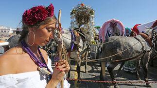 Las imágenes de la primera jornada de romería