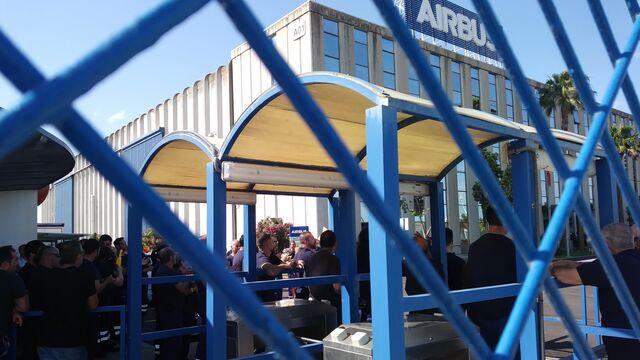 Habr paro el martes en todas las factor as de airbus en for Gimnasio 360 puerto real