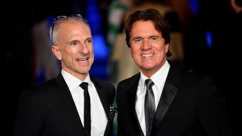 El productor John Deluca y el director Rob Marshall